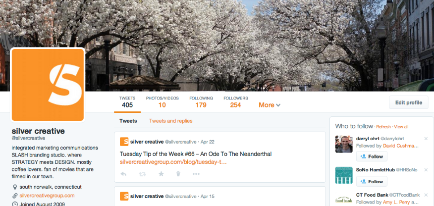 Tuesday Tip of the Week #67 – Twitter's New Profile Update