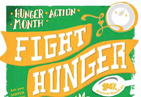 Get Involved in Hunger Action Month by Filling A Bowl Today