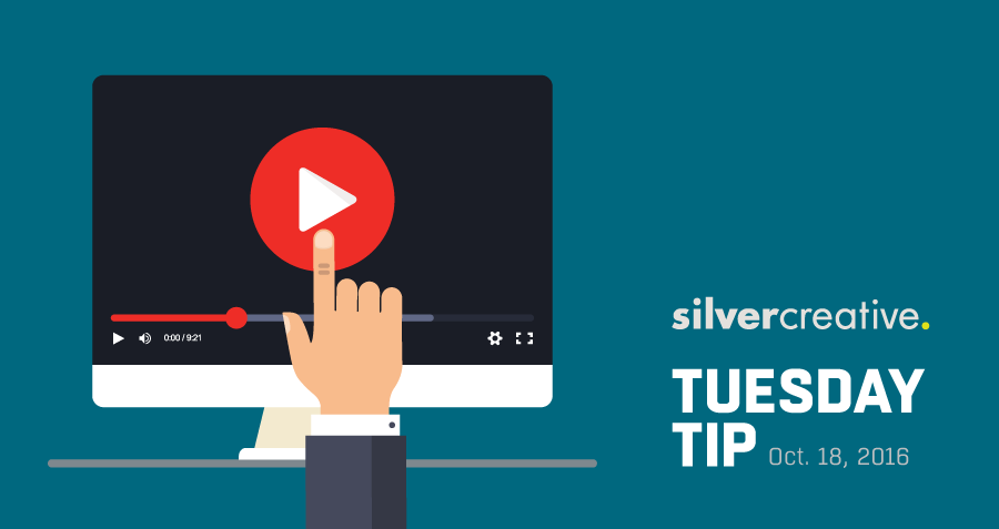 Tuesday Tip #188: Video Content On Digital