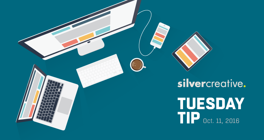 Tuesday Tip: Responsive Web Designs