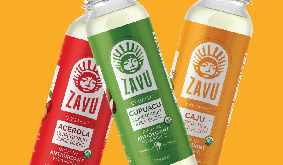 ZAVU Brazilian Superfruit Juices