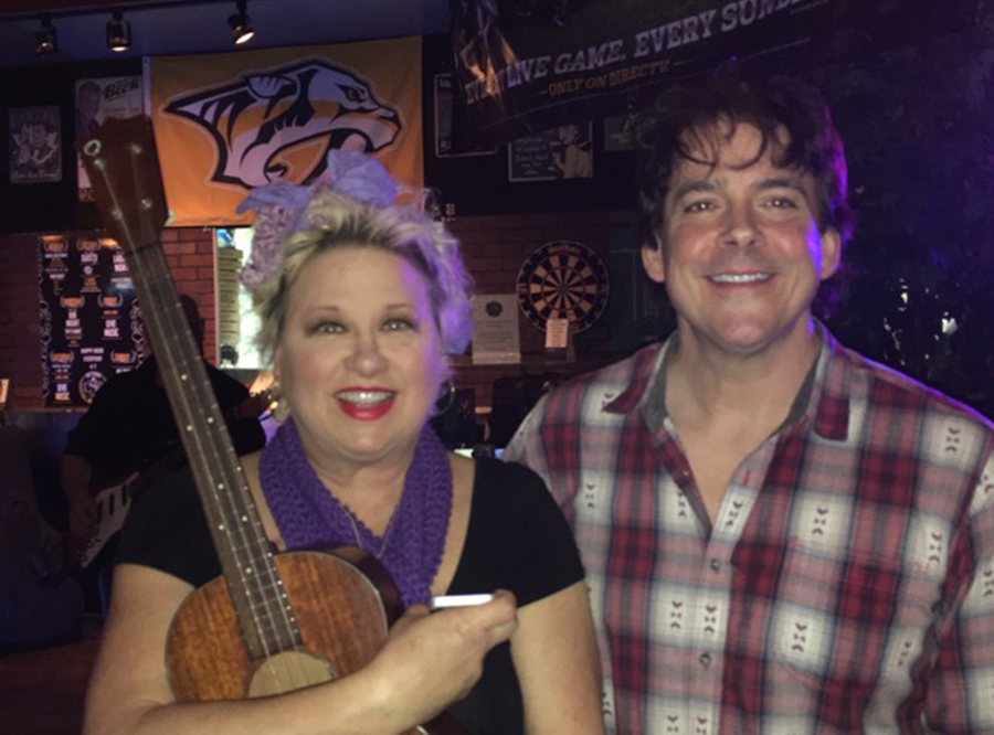 Victoria Jackson after our gig in Cool Springs, TN